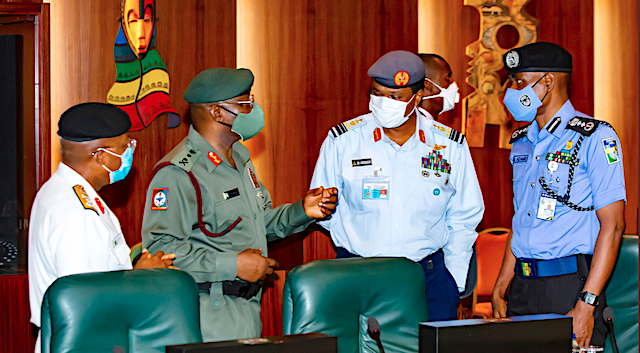 Nigerian Military Service Chiefs Must Prepare Their Belated Handover Notes And Leave Office