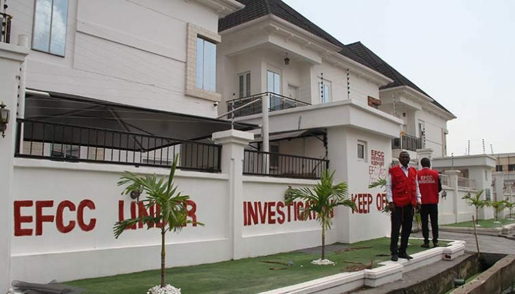 EFCC replies Abia State Govt over marked property, says 'no going back'