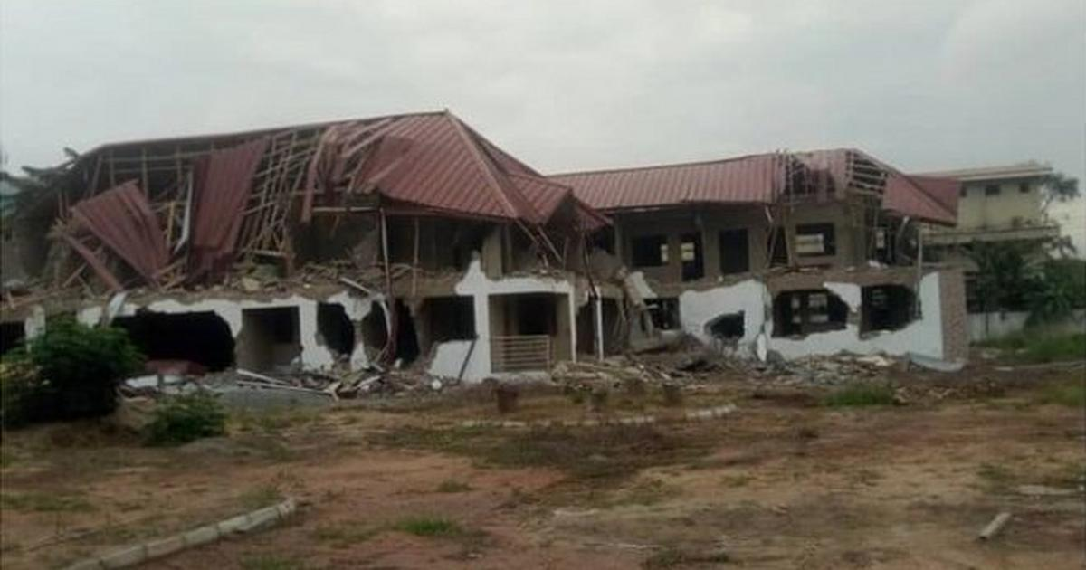 Ghanaian government to rebuild demolished Nigerian embassy [ARTICLE]