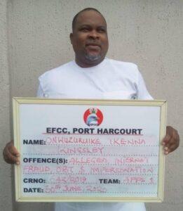PHOTO: How EFCC Nabbed Internet Fraud Kingpin, Onwuzrike over $8.5m