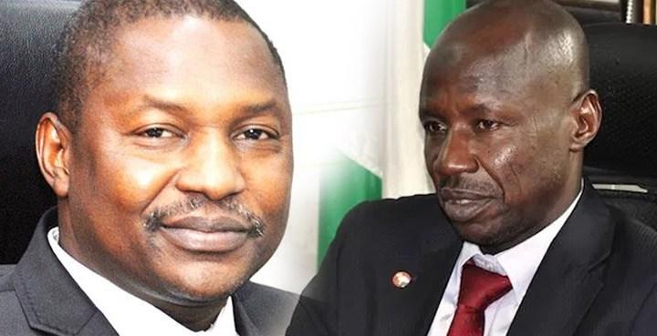 Impact of perennial turf war between Nigeria's EFCC bosses, AGFs