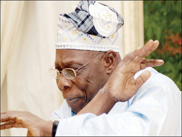 Obasanjo enforces COVID-19 protocols at mother-in-law's burial – Daily Trust