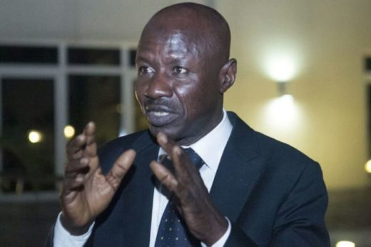 Magu was never arrested by DSS – EFCC