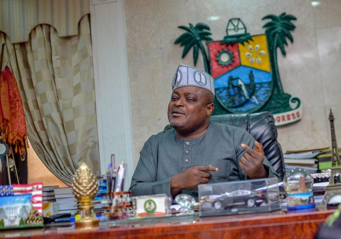 Giggles grip Lagos speaker, Obasa as As EFCC Mounts Investigation Into His Prodigal Lifestyle