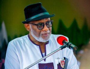 Akeredolu undaunted – Latest Nigeria News, Nigerian Newspapers, Politics