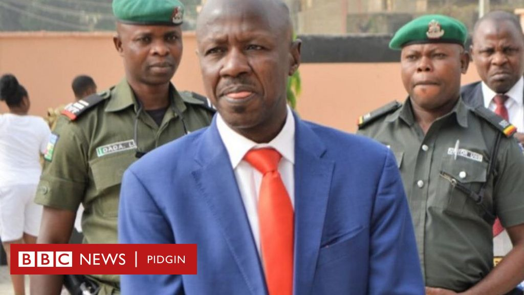 Magu: DSS arrest of Ibrahim Magu, EFCC Acting Chairman no be true, but di corruption police boss get case to ansa – See wetin we know so far