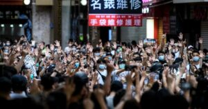 Student arrests in Hong Kong deepen 'white terror' fears [ARTICLE]