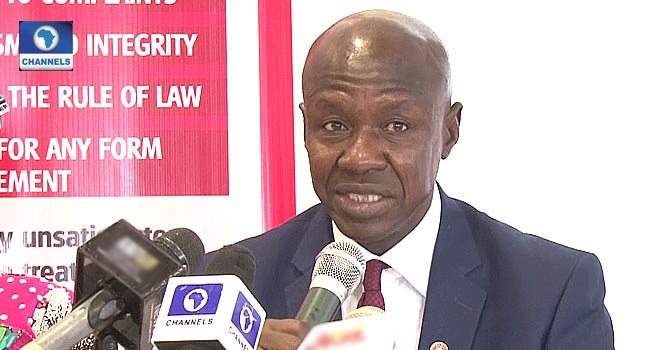 Panel Resumes Investigation Into Operations Of Suspended EFCC Boss, Magu – Channels Television