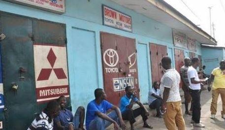 Breaking News | 160 Nigerian businesses 'still locked in Ghana'