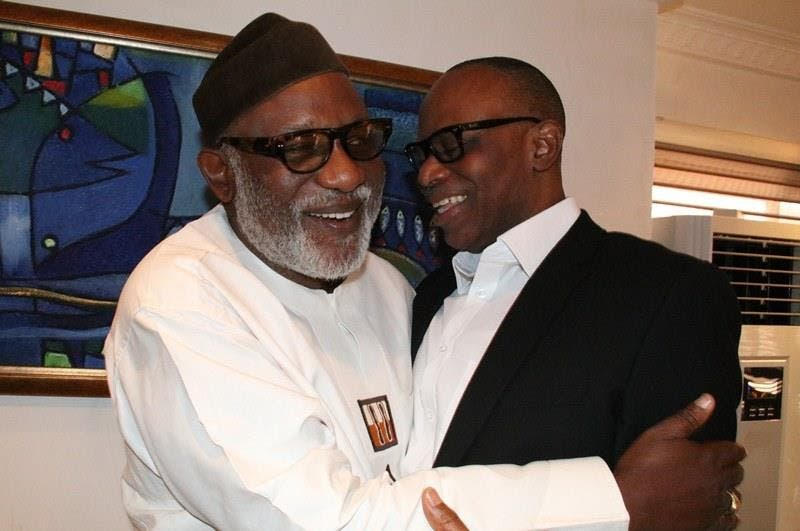 l have nothing against Mimiko, Akeredolu clears air on 'EFCC threat'