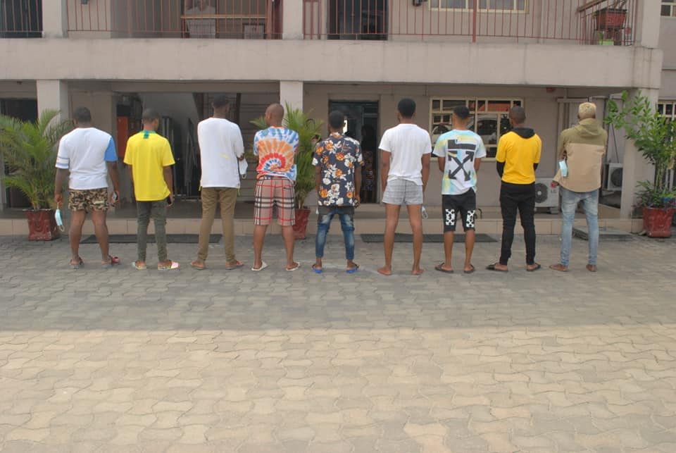 Breaking News | Breaking News EFCC : 9 Suspected Yahoo Boys Arrested In Port Harcourt