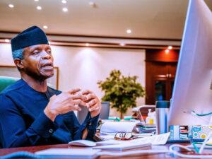 Osinbajo Applauds Supreme Court over Ruling Endorsing Virtual Proceedings
