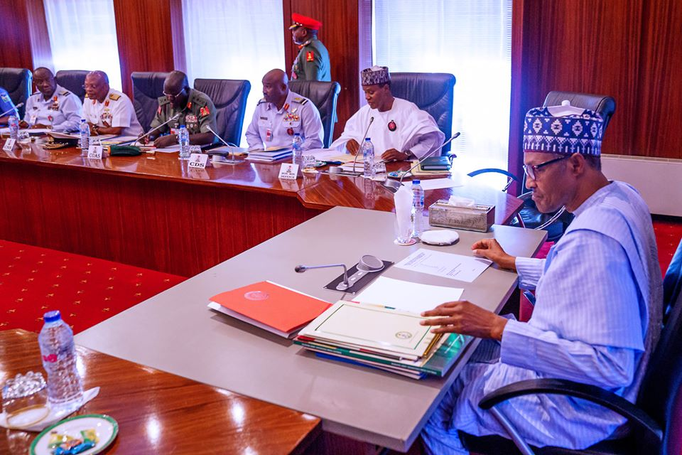Security: Elder statesmen counters Obasanjo, affirms Buhari has recorded more achievements |