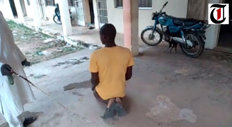 Man sentenced, flogged for stealing sorghum