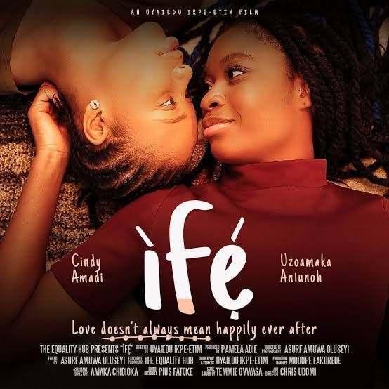 "Breaking News | Pamela Adie Dares Censors Board, Set To Release First Lesbian Love Movie ""Ife"""