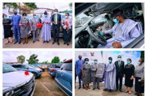 Sanwo-Olu splashes 51 SUVs, 8 houses on judges