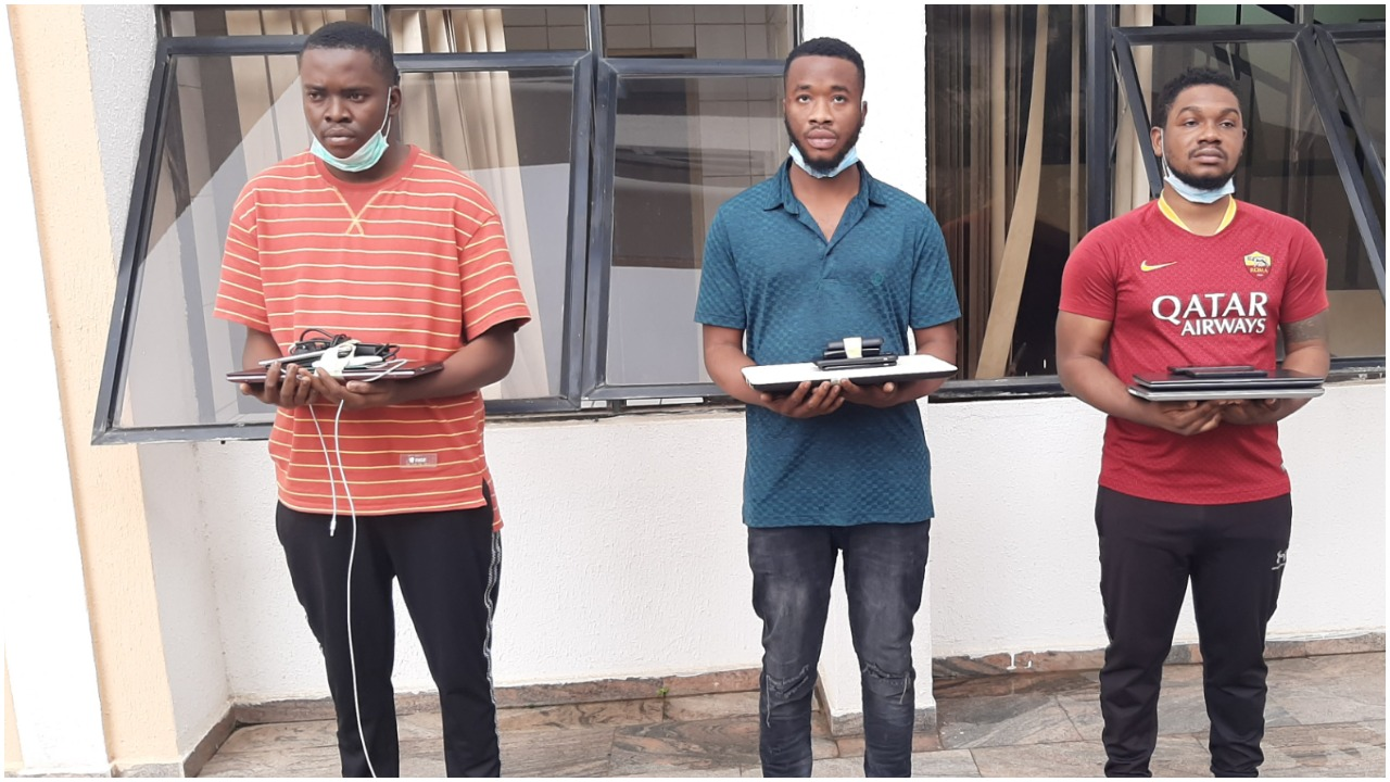 EFCC arrests suspected internet fraudsters in Abuja