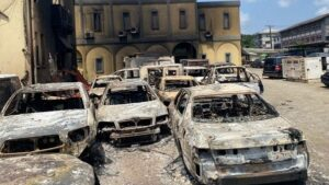 Breaking News   Burnt Igbosere High Court is Nigeria's oldest judicial building