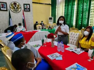 Governor Ugwuanyi hailed for promoting girl child's wellbeing in Enugu ▷ Nigeria news