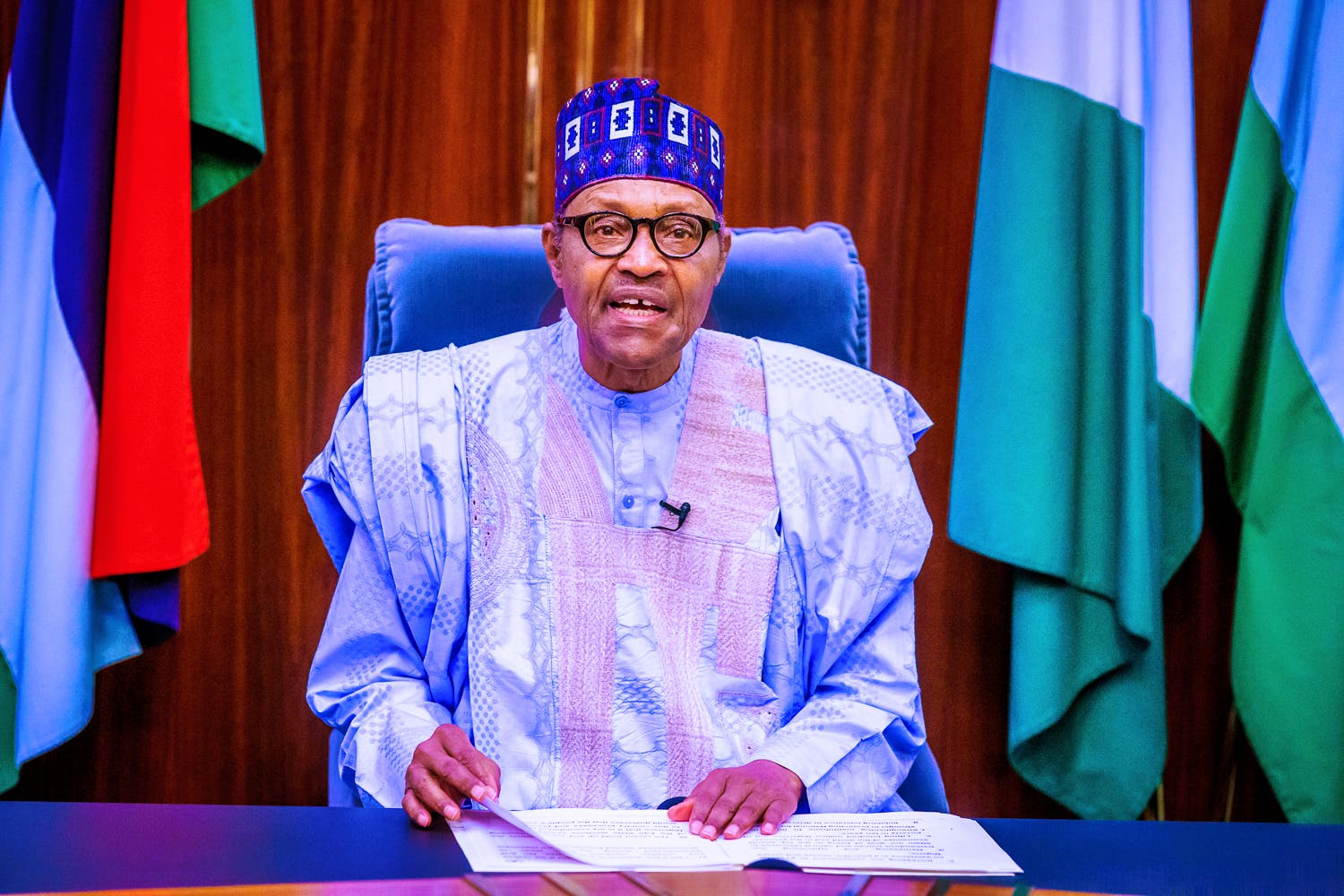 Be patient with any law you've misgiving about, Buhari tells Nigerians