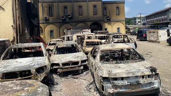 Burnt Igbosere High Court is Nigeria's oldest judicial building