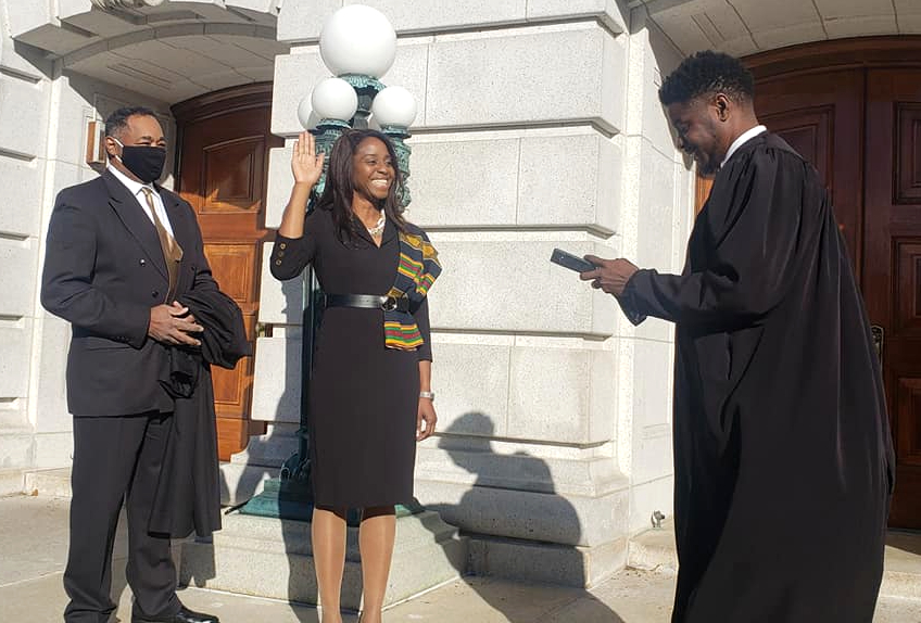 Judge Nia Trammell makes history, brings a unique perspective to Dane County Circuit Court