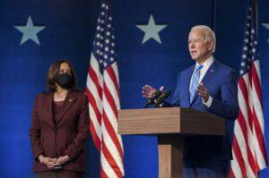 Street parties erupt in U.S. cities as Biden declared winner