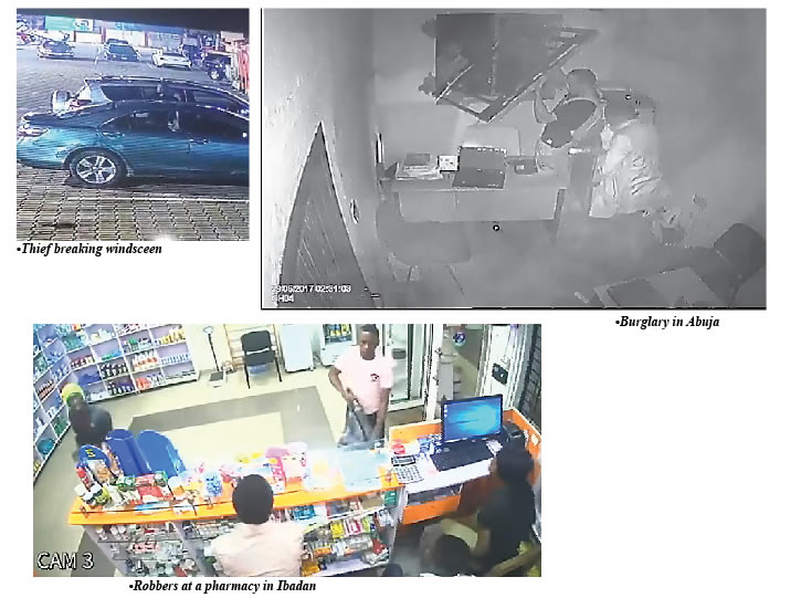 How poor footage, database allow criminals caught on CCTV cameras escape justice – Punch Newspapers